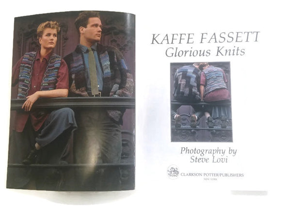 Books GLORIOUS KNITS by Kaffe Fassett - Buttermilk Cottage - 2