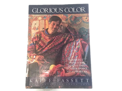 Books GLORIOUS COLOR by Kaffe Fassett - Buttermilk Cottage - 1