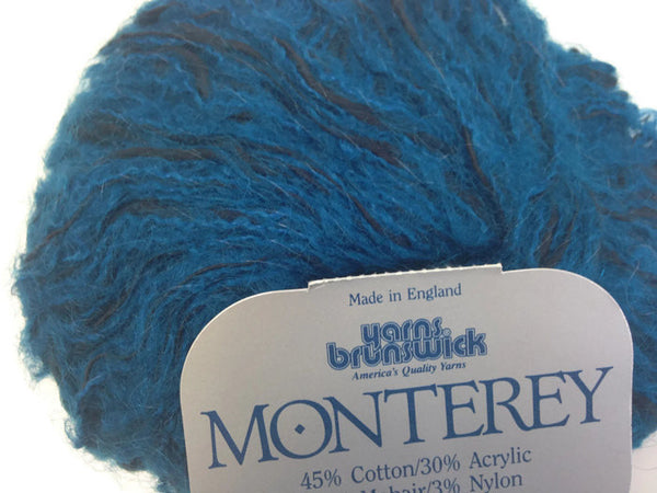 Yarn Brunswick Monterey Teal Black - Buttermilk Cottage - 5