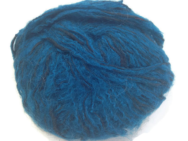 Yarn Brunswick Monterey Teal Black - Buttermilk Cottage - 2
