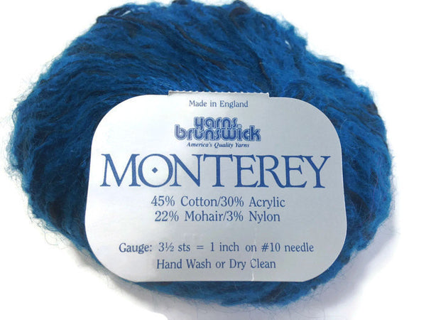 Yarn Brunswick Monterey Teal Black - Buttermilk Cottage - 1