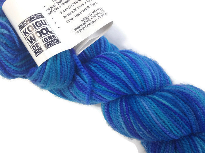 Yarn Koigu Premium Merino Wool Turquoise - Buttermilk Cottage - 1