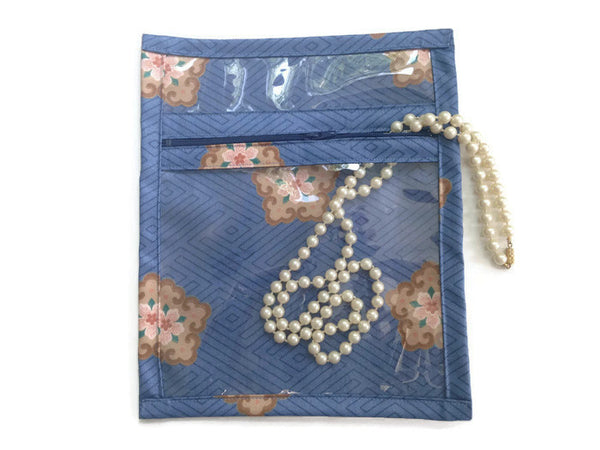Accessory Bag Blue Cloisonne - Buttermilk Cottage