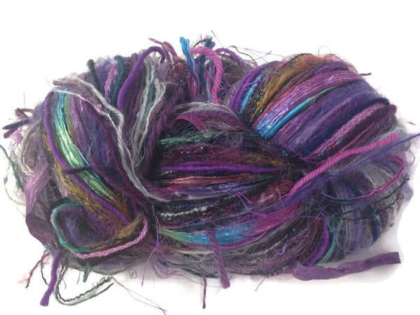 Purple FUSION Yarn - Buttermilk Cottage - 1