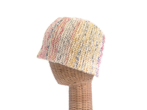 Bucket Hat with Buttons - Buttermilk Cottage - 2