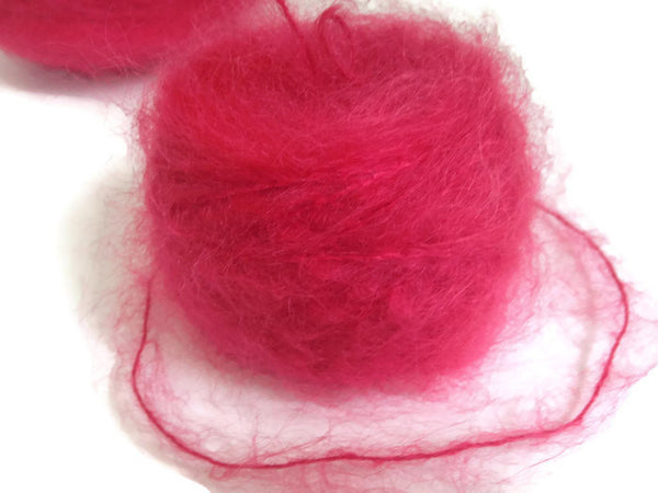 Yarn Henry's Attic Toaga II Mohair  Chinese Red - Buttermilk Cottage - 3
