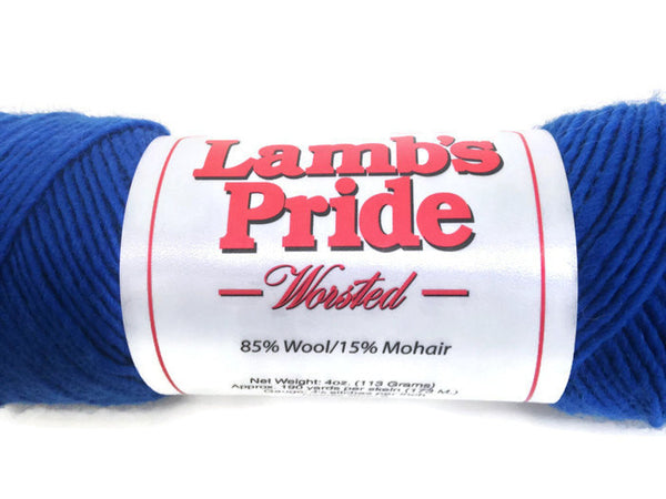 Yarn Brown Sheep Lamb's Pride Worsted Blue - Buttermilk Cottage - 5