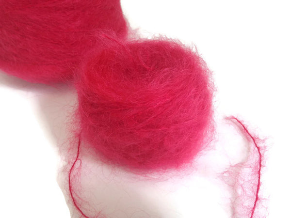 Yarn Henry's Attic Toaga II Mohair  Chinese Red - Buttermilk Cottage - 4