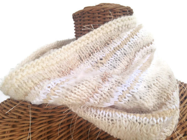 FUSION Cowl Winter White - Buttermilk Cottage - 3