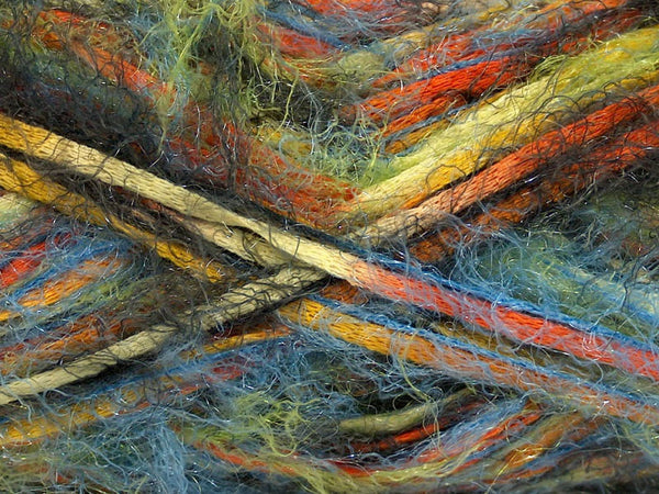 Yarn ICE Vitech  Green Orange Yellow Blue - Buttermilk Cottage - 2