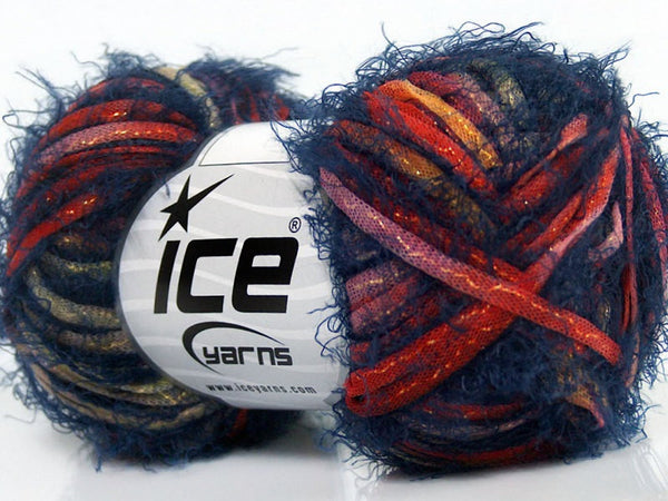 Yarn ICE Techno Shine Blue - Buttermilk Cottage