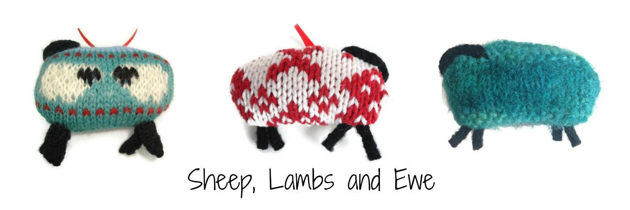 Sheep, Lambs and Ewe