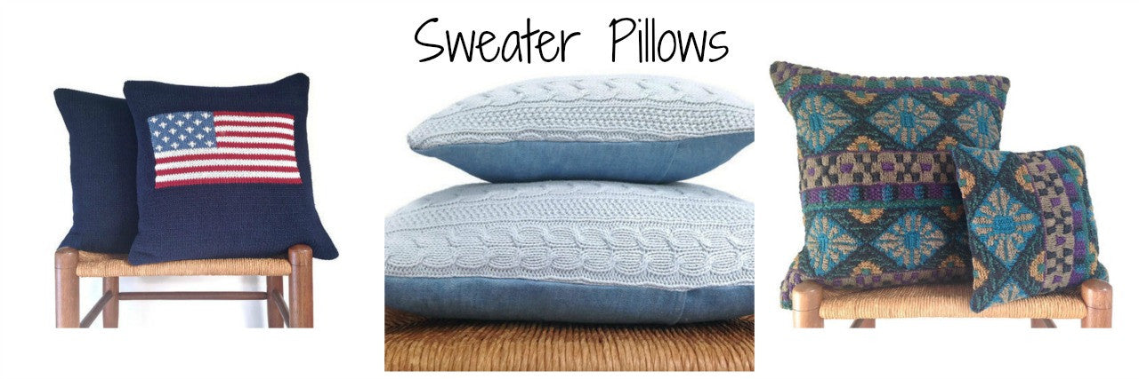 Sweater Pillows
