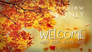 Autumn Arrival Welcome