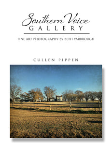 Artwork - Southern Voice Gallery - Farm and FIeld - Cullen-Pippen Farm Fine Art Print