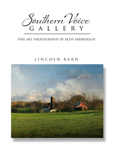 Artwork - Southern Voice Gallery - Farm and Field - Lincoln County Farm Fine Art Print