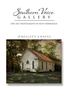 Artwork - Southern Voice Gallery - Churches - O'Kelley's Chapel Fine Art Print