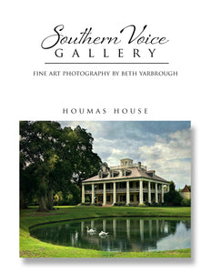 Artwork - Southern Voice Gallery - Iconic Houses - Houmas House Fine Art Print