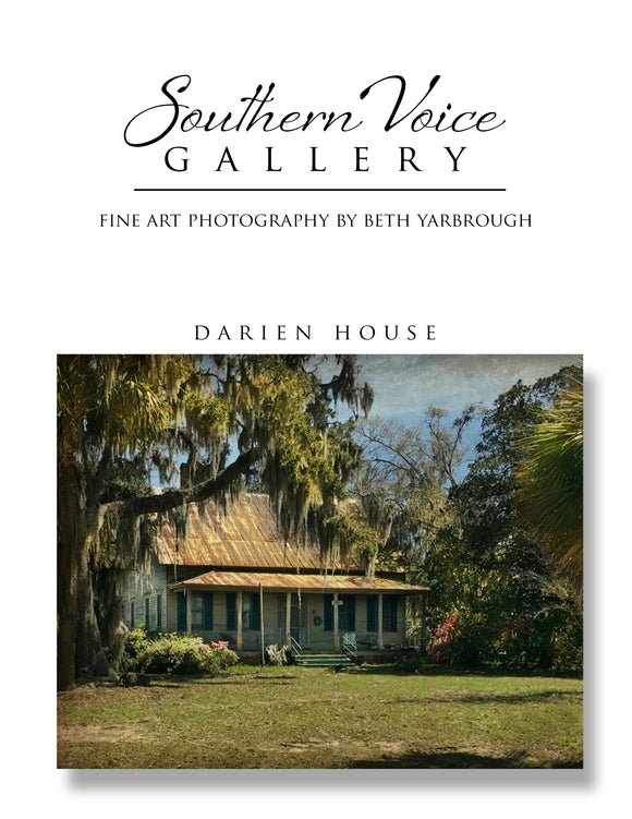 Artwork - Southern Voice Gallery - Old Homes - Darien House Fine Art Print