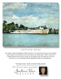 Artwork - Southern Voice Gallery - Coastal - Captain Mike Fine Art Print