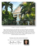 Artwork - Southern Voice Gallery - Key West - Pink House Fine Art Print