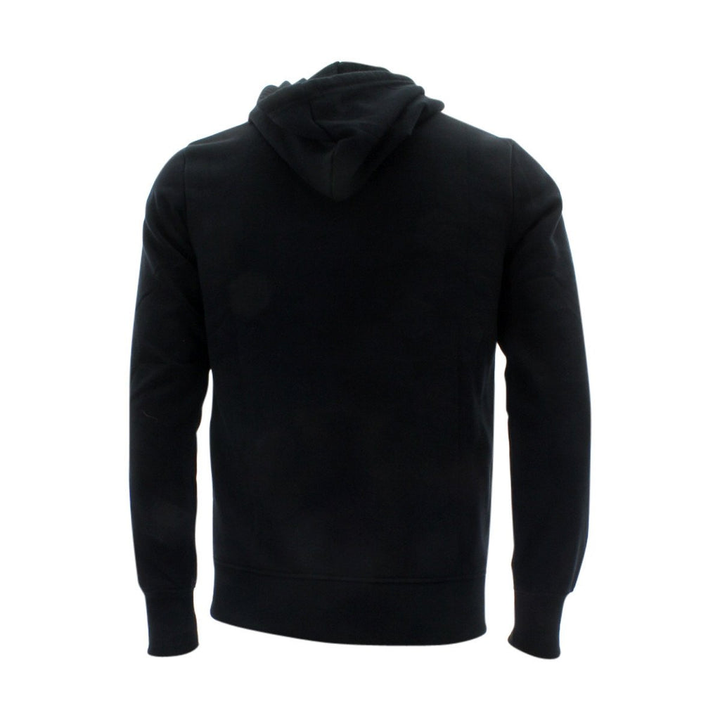 VIM Basic Hoodie Fleece Fabric Sweatshirt - Black - Vim.com