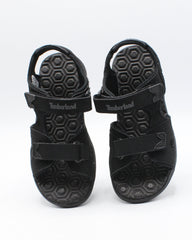 TIMBERLAND Adventure Seeker 2-Strap Sandal (Infant/Toddler) - Black - Vim.com