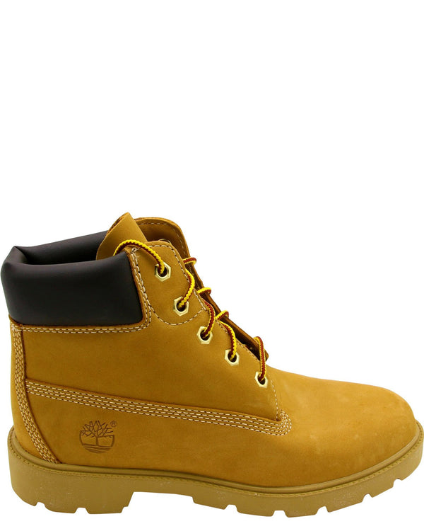 TIMBERLAND-6-Inch Basic Waterproof Boot (Grade School) - Wheat-VIM.COM