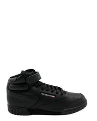 REEBOK Men'S Ex O Fit Hi Sneakers - Black - Vim.com