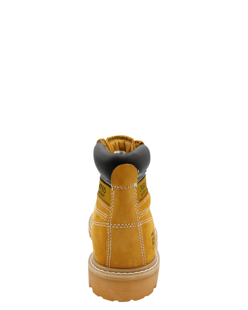 Eurbak Men'S 6 Inch Insulated Water Resistant Boot - Wheat - Vim.com