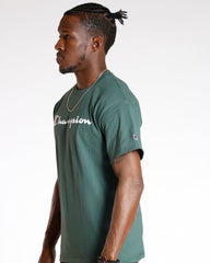 CHAMPION Champion Graphic Tee - Dark Green - Vim.com