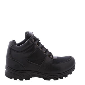VIM Men'S Mock Toe Dome Boots - Black - Vim.com