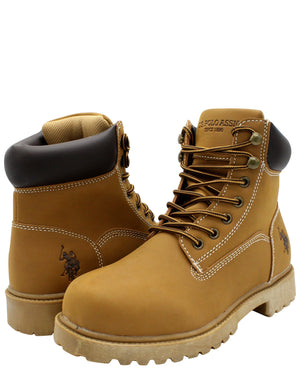 U.S. POLO ASSN. Men'S 6 Inch Boot - Wheat - Vim.com