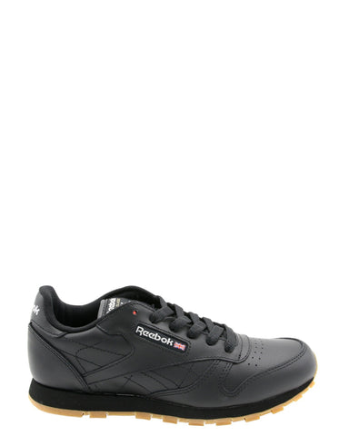 REEBOK-Classic Leather Sneakers (Grade School) - Black-VIM.COM