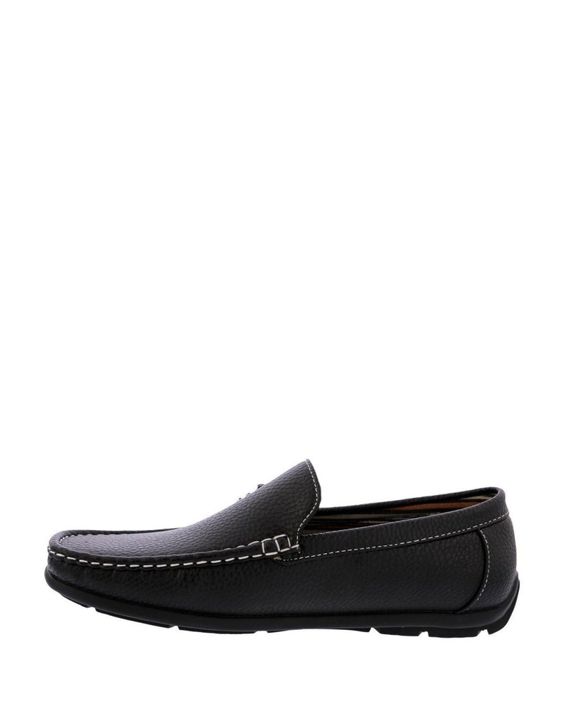 BEVERLY HILLS POLO CLUB Men'S Moc Driving Shoes - Black - Vim.com