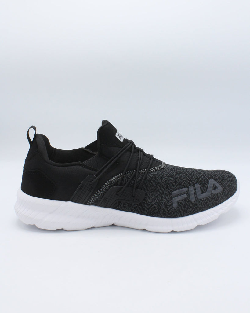 FILA Men'S Heat Fuse Sneaker - Black - Vim.com