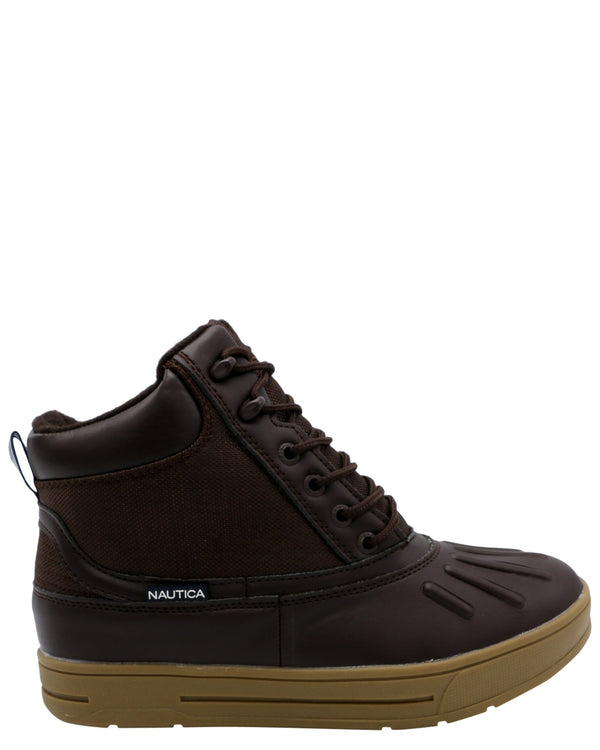 NAUTICA-Men's New Bedford Boot - Brown-VIM.COM