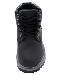 AKADEMIKS Polar 02 Boot (Toddler) - Black - Vim.com