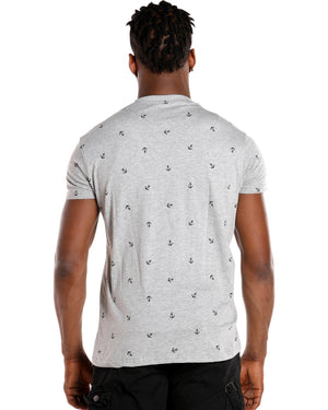 VIM Men'S Anchor Tee - Grey - Vim.com
