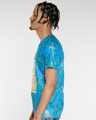 VIM Higher Gold Foil Tee - Blue Green - Vim.com