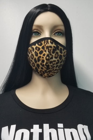 Women's Face Mask - Leopard