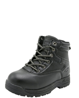 MOUNTAIN GEAR Boys' Crosby Mid Boots (Pre School) - Black - Vim.com