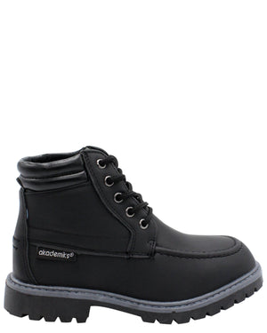 AKADEMIKS Polar 01 Boot (Pre School) - Black - Vim.com