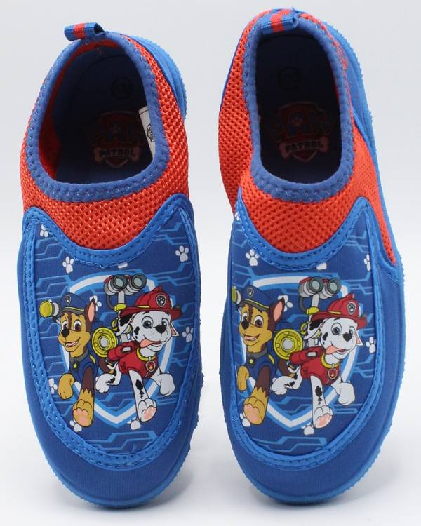 VIM Paw Patrol Aqua Sock Shoe (Infant/Toddler) - Blue - Vim.com