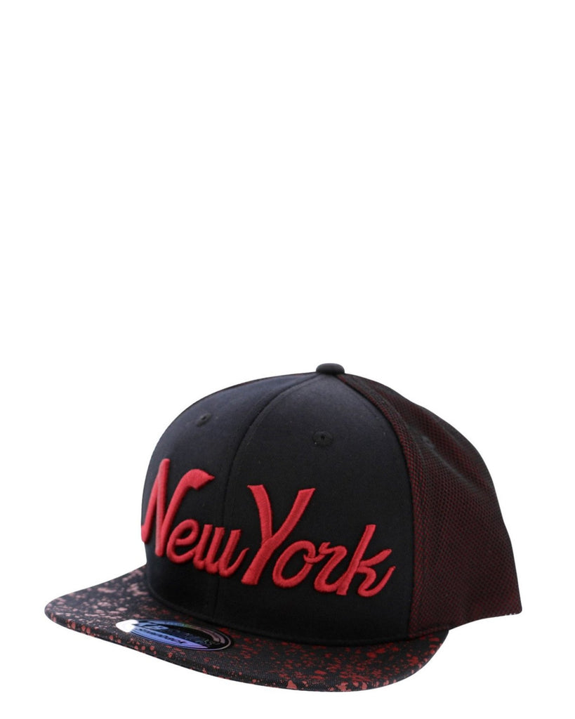 Men's New York Mesh Splatter Cap