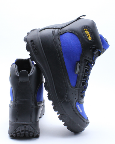 ASOLO-Men's Skyriser Hiker Boot - Black Royal-VIM.COM