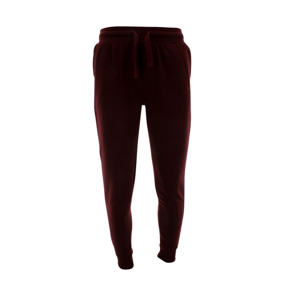 Floose - Men's Basic Fleece Paint Tc Joggers - Burgundy - V.I.M. - 1