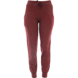 Rok  - Women's Basic Fleece Bottom Joggers - Burgundy - V.I.M. - 1
