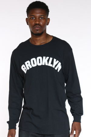 Men's Brooklyn Tee - Black-VIM.COM