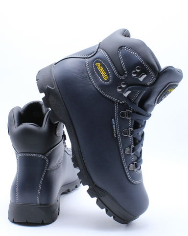 ASOLO-Men's Sunrise Hiker Waterproof Boot - Navy-VIM.COM